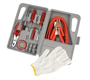 American Builder 31 Piece Roadside Eemrgency Kit