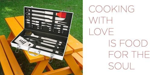 COOKING WITH LOVE IS FOOD FOR THE SOUL
