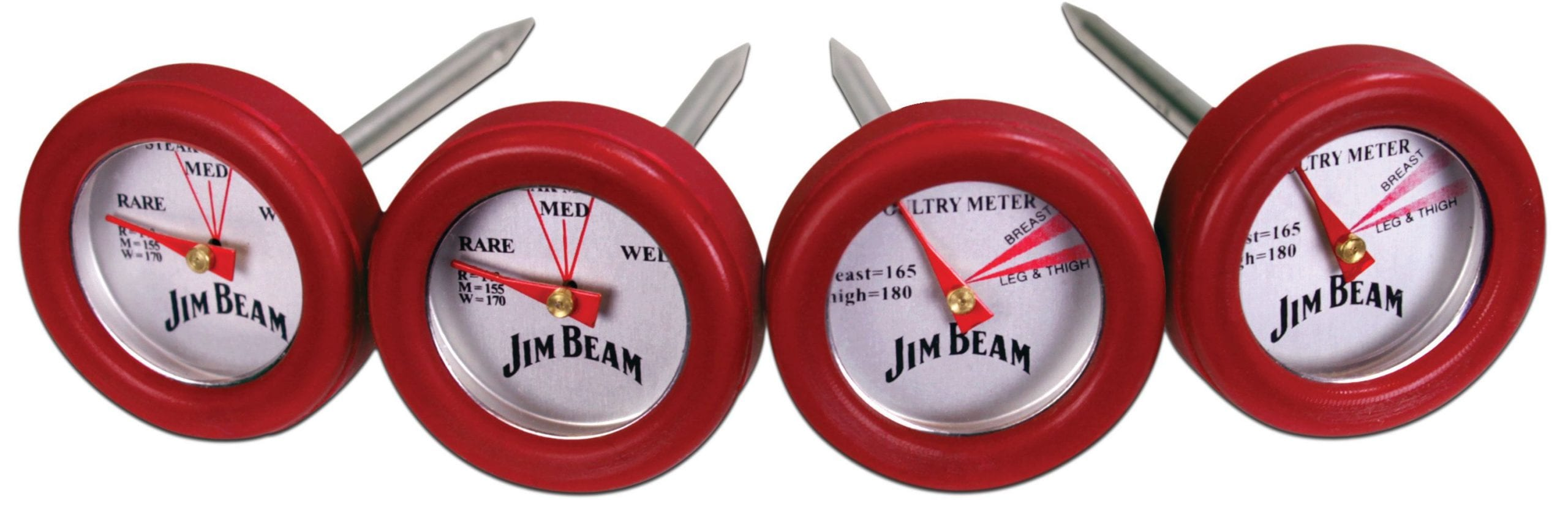 Jim Beam 4 Pack Meat Thermometer scaled