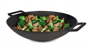 Jim Beam Cast Iron 12 Wok 2