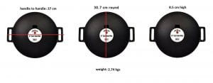 Jim Beam Cast Iron 12 Wok 3