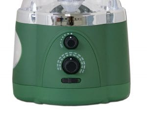 Northpoint Multifunction LED Lantern with Flashlight and AMFM Radio (Green) 1