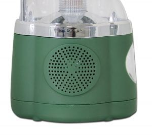 Northpoint Multifunction LED Lantern with Flashlight and AMFM Radio (Green) 3