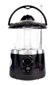 Northpoint Multifunctional Bluetooth Lantern with AMFM Radio (Black) 2