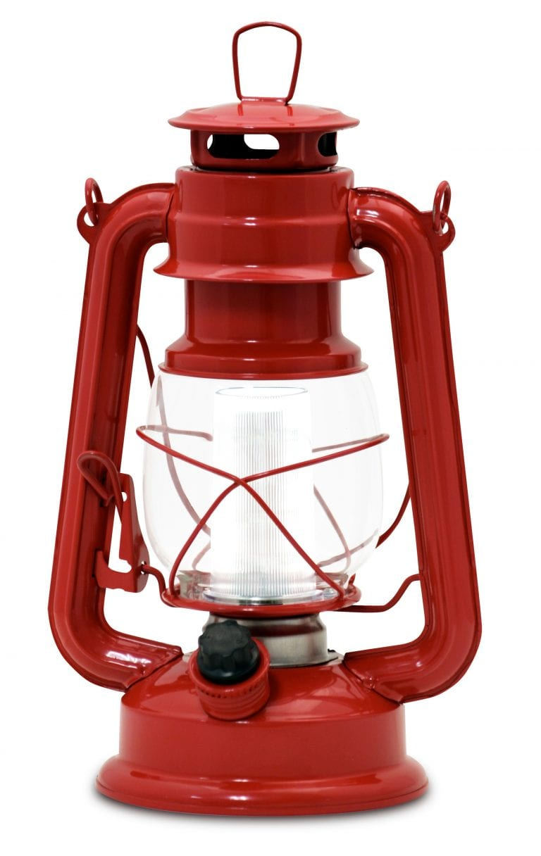 Northpoint Vintage Style Red Lantern 1