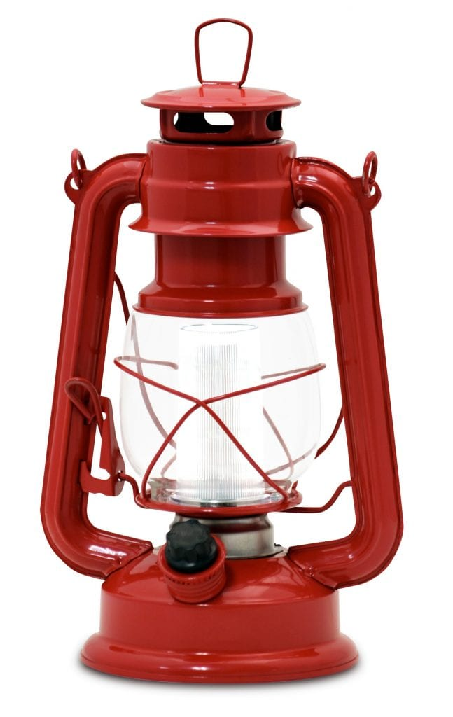 Northpoint Vintage Style Red Lantern