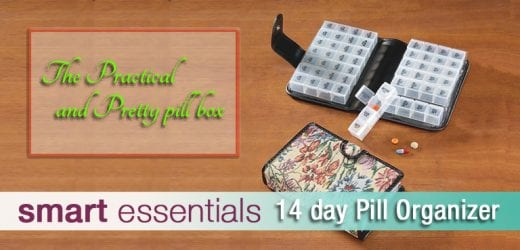 THE PRACTICAL AND PRETTY PILL BOX