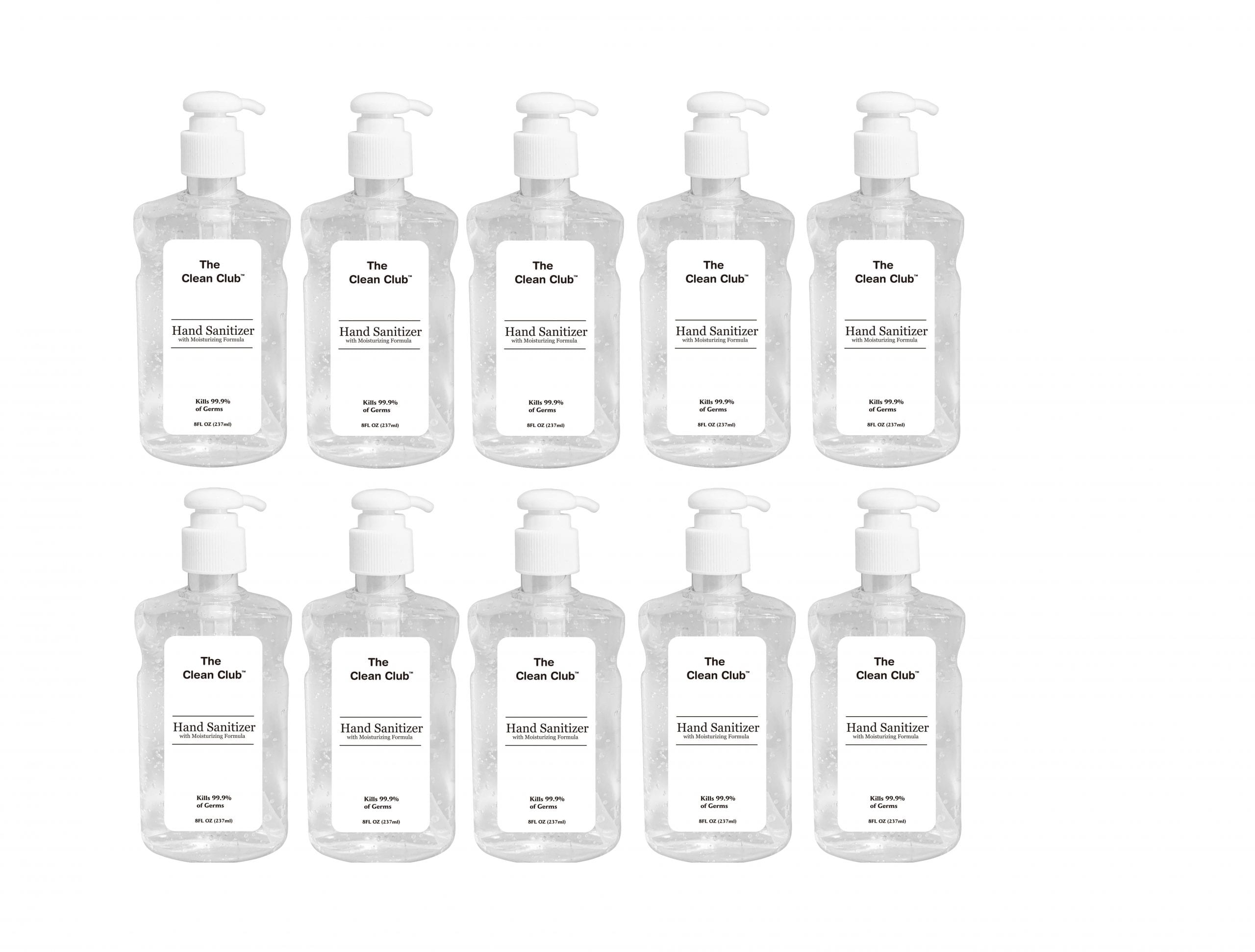 The Clean CLub Hand Sanitizer 237 ml scaled
